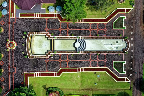 Top View Photo of Park