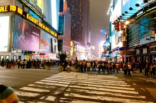 Free stock photo of new york, times square