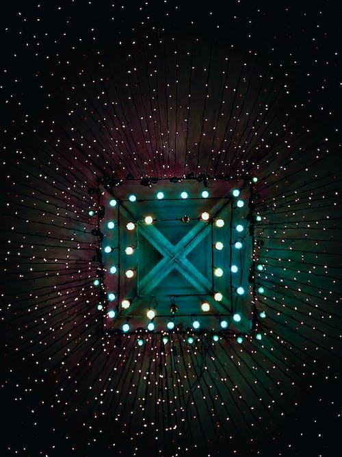 Foto stok gratis galaksi, lampu, ruang cahaya