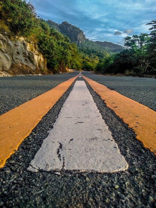 Foto stok gratis jalan tanah, kabur, mengendarai