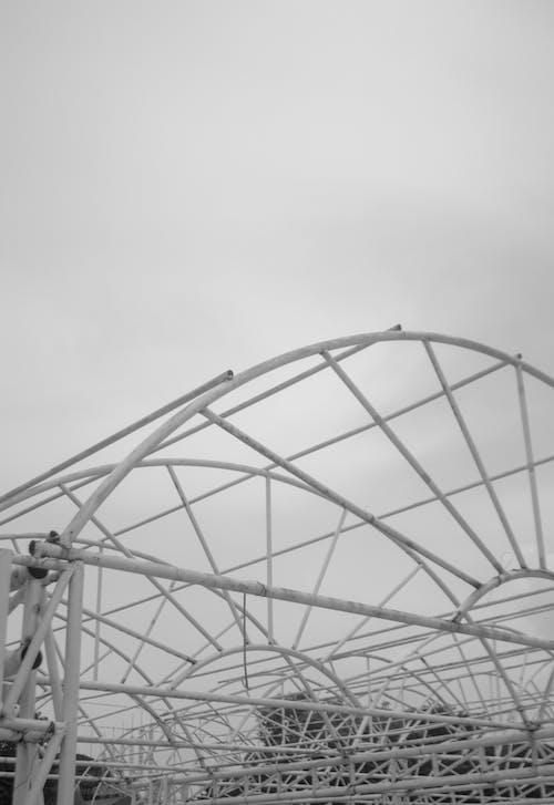 Foto d'estoc gratuïta de abandonat, b/n, blanc, blanc i negre
