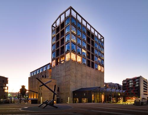 Бесплатное стоковое фото с архитектура, башня, высокий, голубой