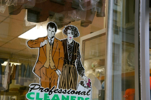 Free stock photo of dry cleaning