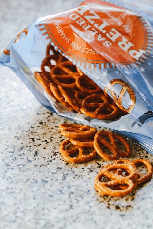 Gói Bánh Pretzel đã Mở