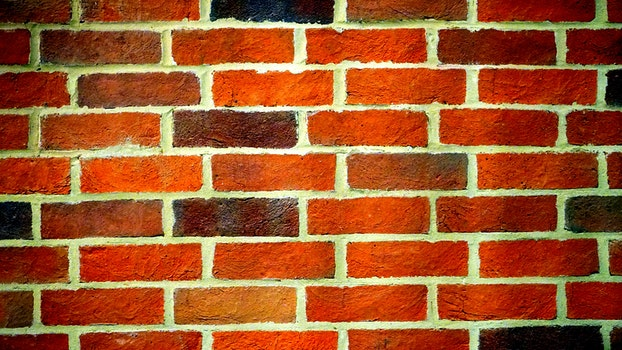 Landscape Photography of Orange Brick Wall