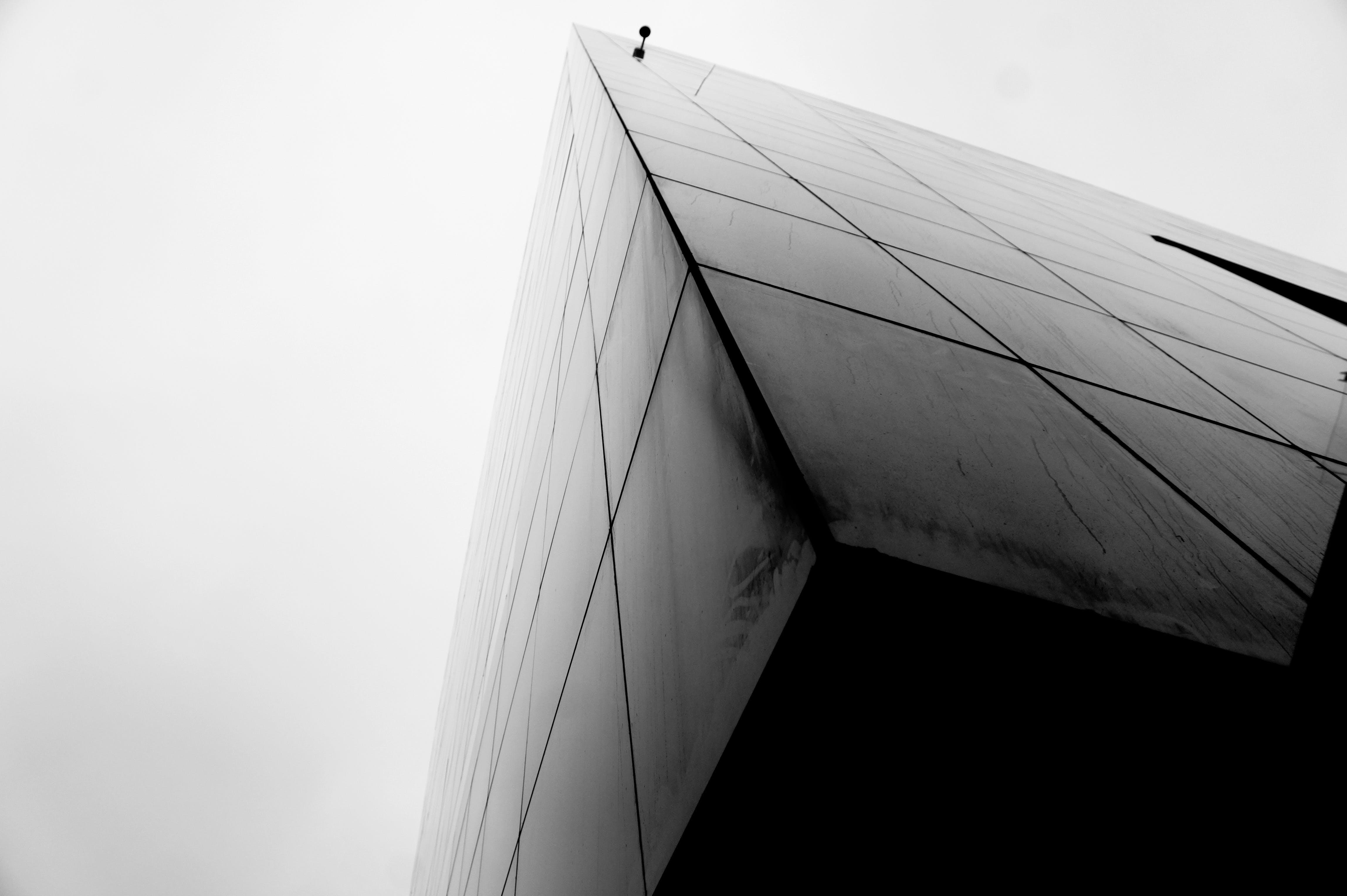 Free stock photo of black-and-white, copenhagen, denmark, symmetric