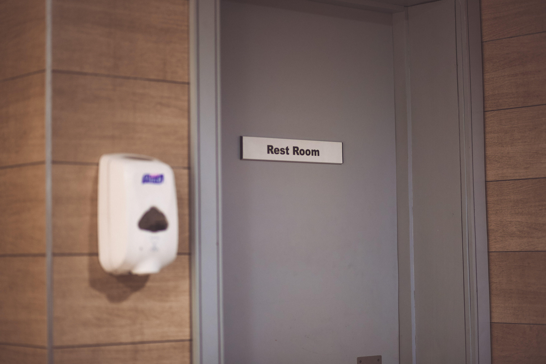 Rest Room Door