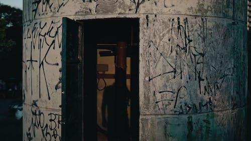 入口, 塗鴉, 壁紙, 牆壁 的 免费素材照片