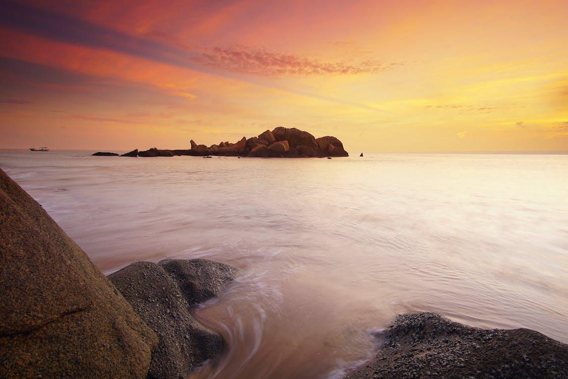 岩石, 岩石形成, 日出
