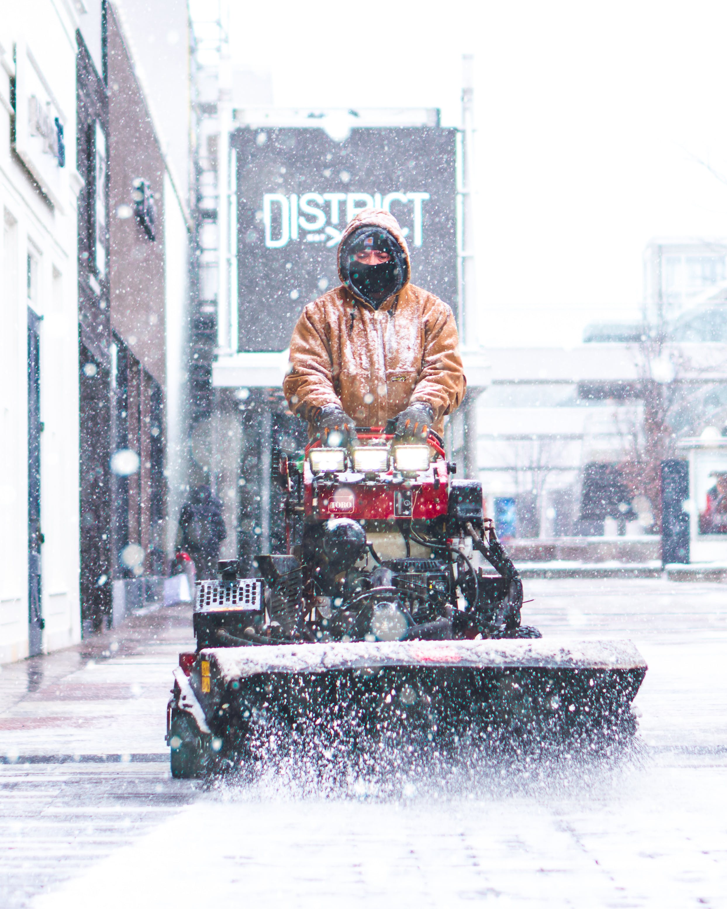 Free stock photo of chicago, snow, snow cleaning, winter