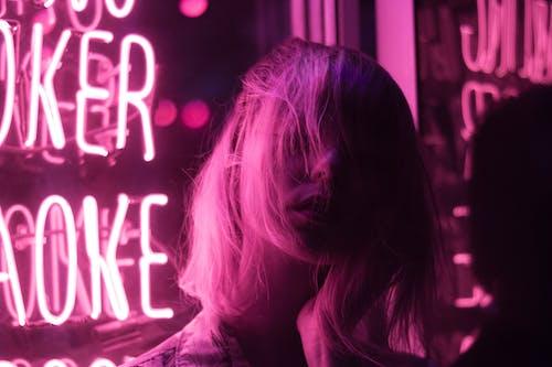 Foto d'estoc gratuïta de cabell, dama, dona, expressió facial
