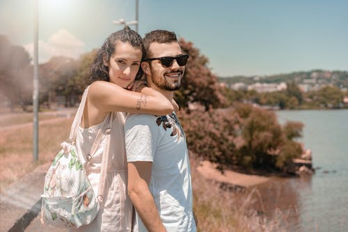 Imagine de stoc gratuită din apus, cuplu, parc