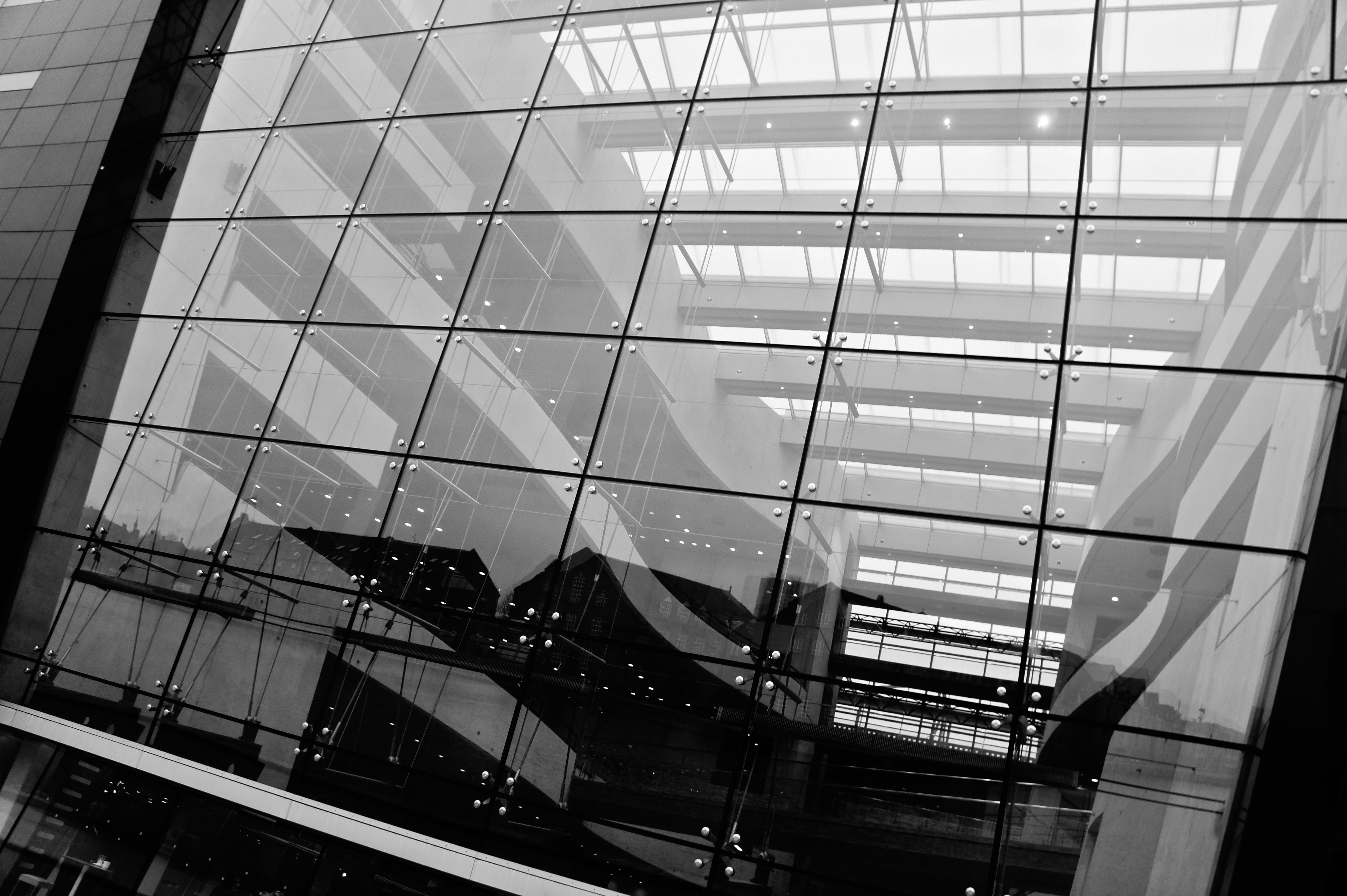 Free stock photo of architecture, copenhagen, denmark, glass