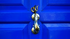 wood, art, blue