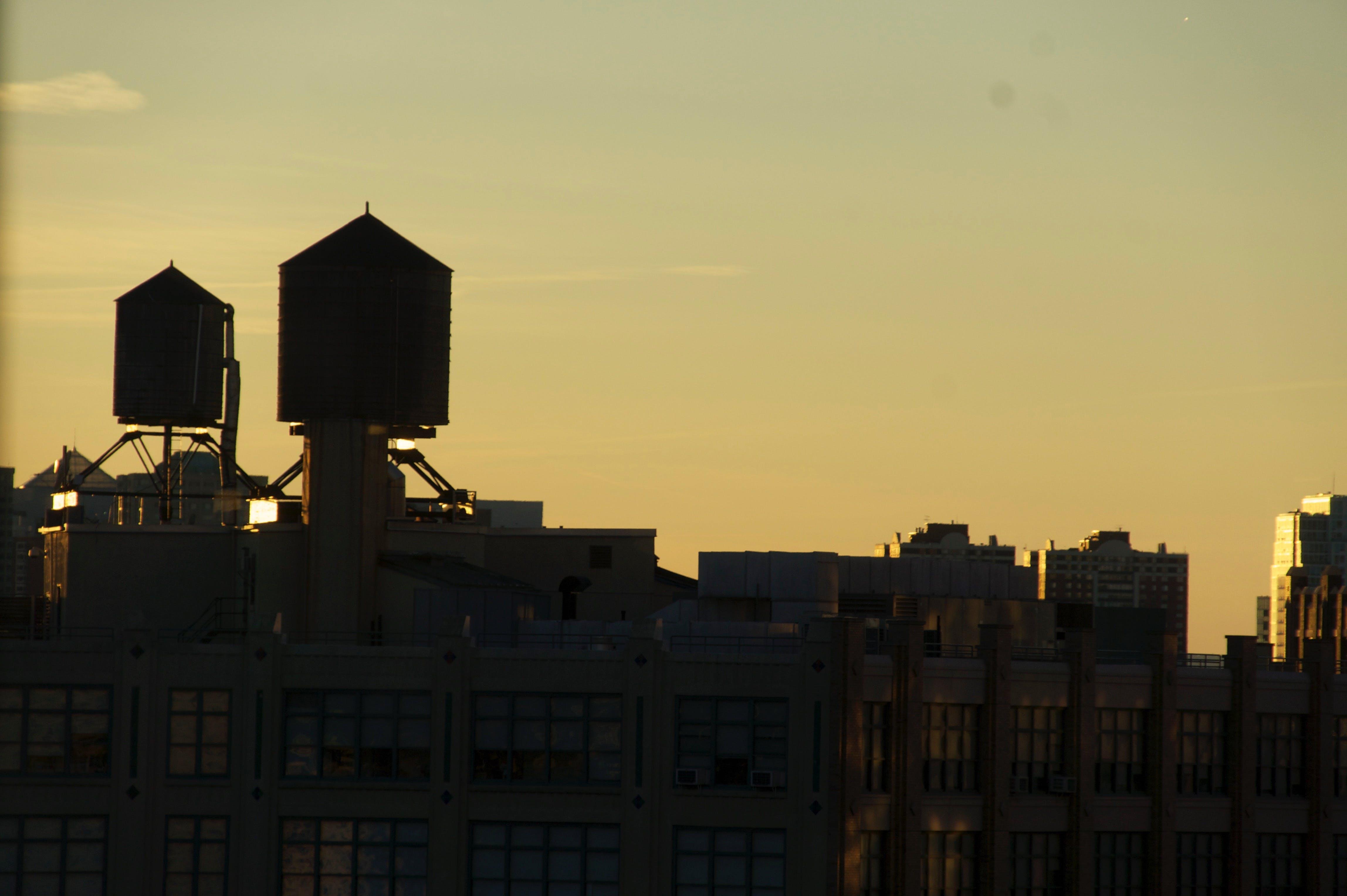 Free stock photo of new york, skyline