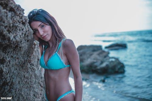 Free stock photo of beach, beautiful, beautiful eyes, blue