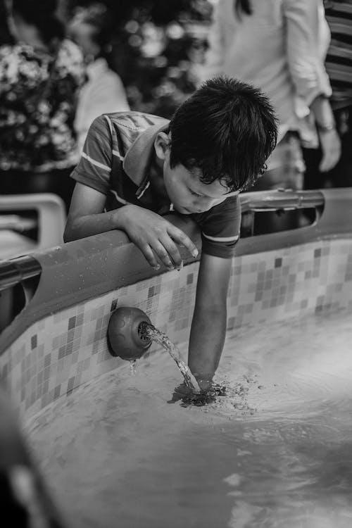 傢伙, 兒童, 水