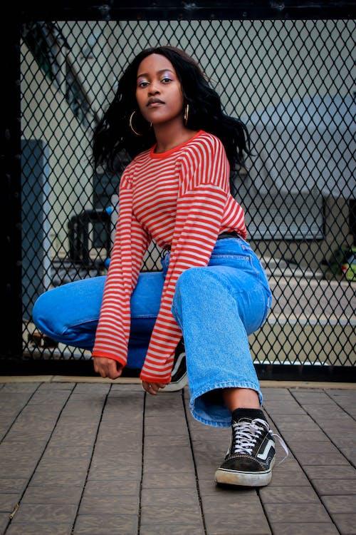 Бесплатное стоковое фото с африканка, афро-американка, женщина, красивая