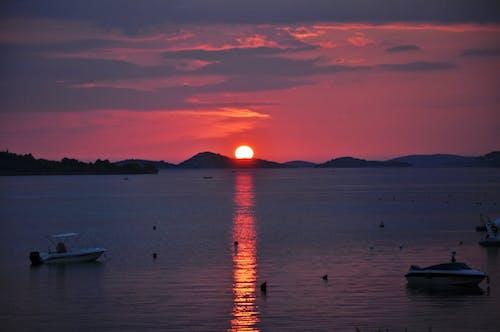 Gratis lagerfoto af Kroatien, solnedgang, srima, strand
