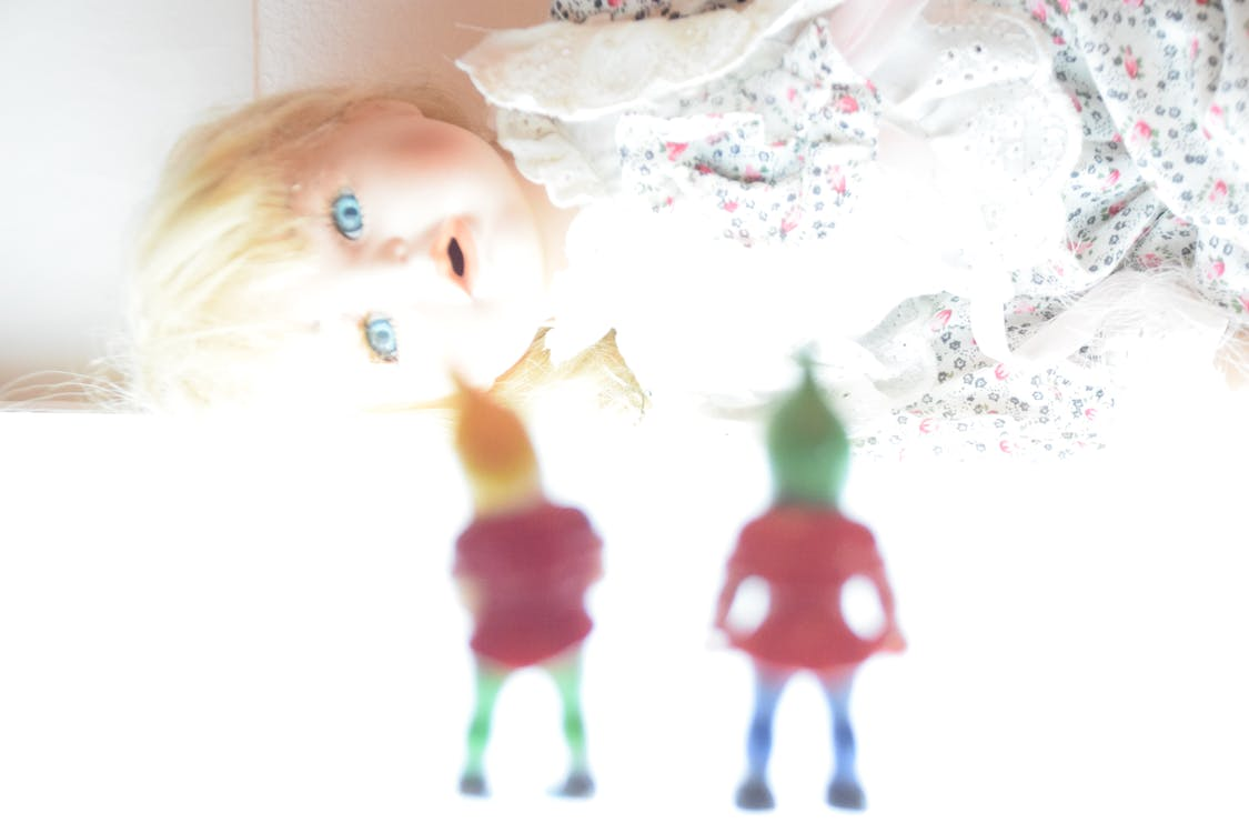 blond, doll, dwarf