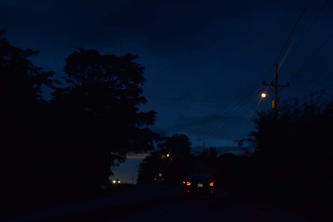 night, suburban