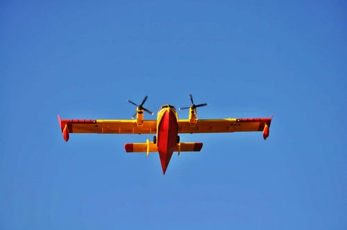 Gratis lagerfoto af flyvemaskine
