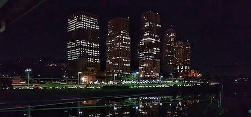 belediye binası, Brezilya, gece, görmek içeren Ücretsiz stok fotoğraf