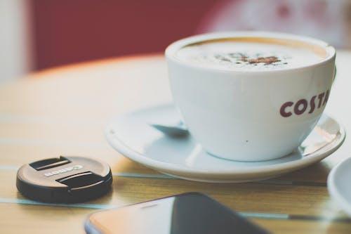 一杯咖啡, 卡布奇諾, 咖啡, 咖啡因 的 免费素材照片
