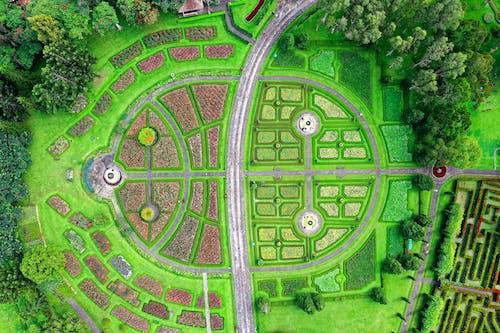 Vista Aerea Del Giardino Del Labirinto