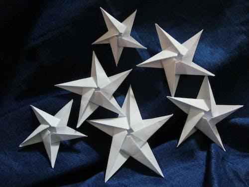 Free stock photo of origami stars star paper folding art