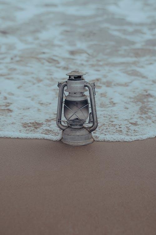 Foto d'estoc gratuïta de acomiadar-se, aigua, aigua blava, Costa