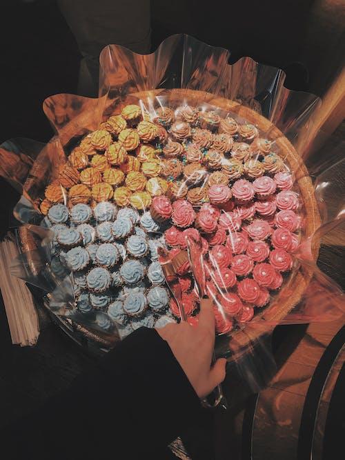 Free stock photo of cake, colorful, cupcake