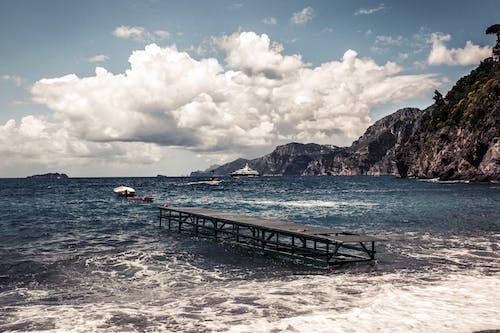 桟橋, 海の無料の写真素材