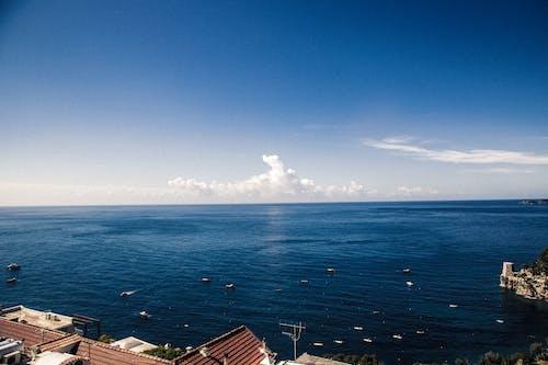 Fotos de stock gratuitas de mar Mediterráneo, nubes