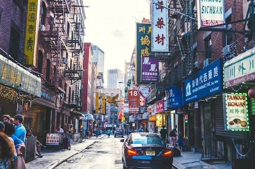 Darmowe zdjęcie z galerii z #outdoorchallenge, chinatown, miejski, nowy jork