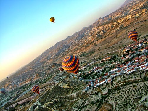 Kostnadsfri bild av adrenalin, äventyr, luftballong, varmluftsballonger