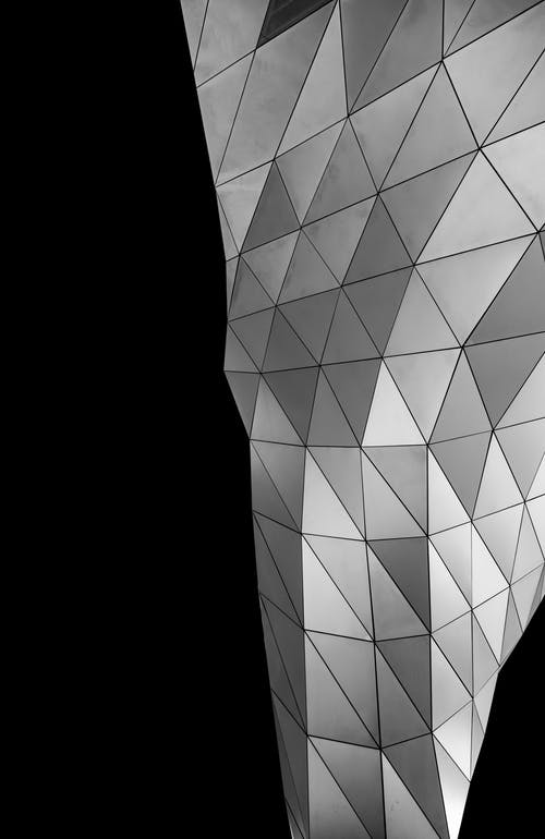 Foto profissional grátis de arte, contemporâneo, design, fundo preto