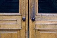 wood, broken, door