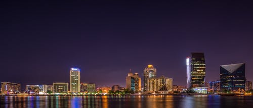 Panorama Photography of City at Night