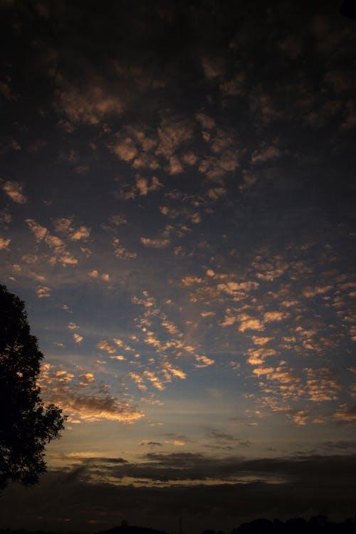 Photos gratuites de bleu, ciel orange, ciel pourpre, environnement