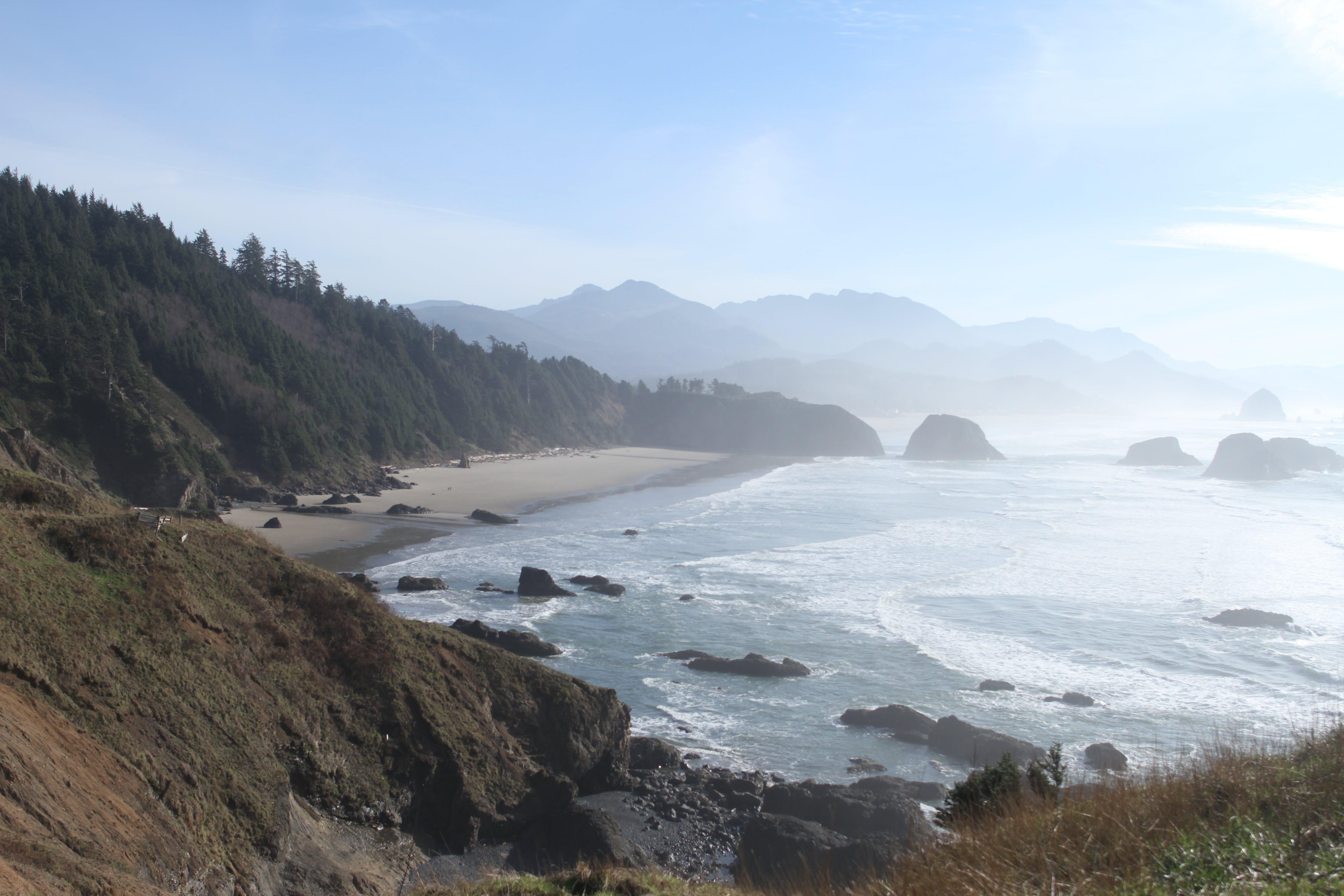 Foto profissional grátis de costa, dia, noroeste pacífico, oceano