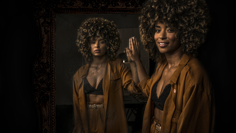 Kostenloses Stock Foto zu afroamerikaner-frau, black power, brasil, dunkel