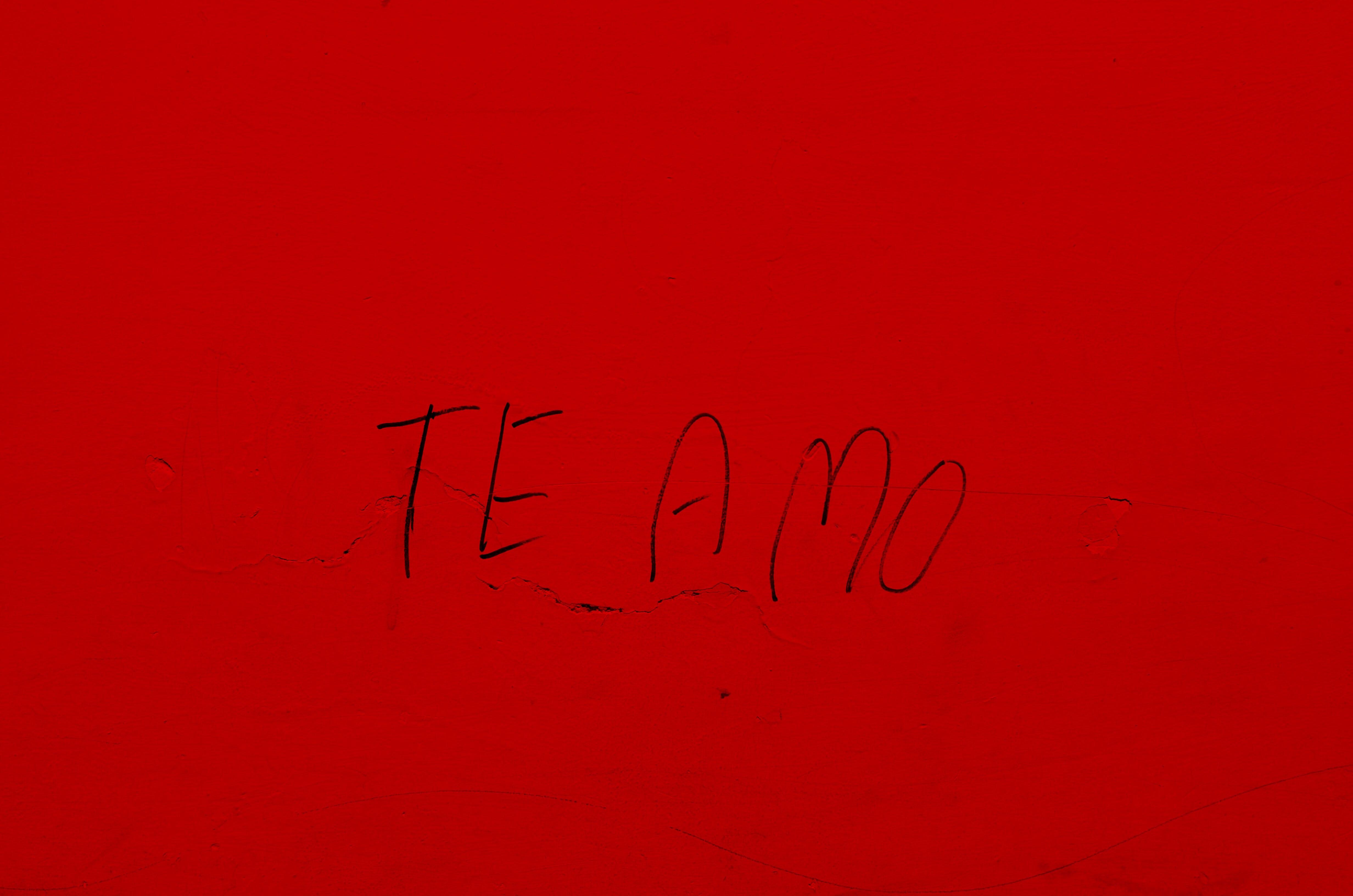 Free stock photo of amor, graffiti, handwritten, happy valentines day