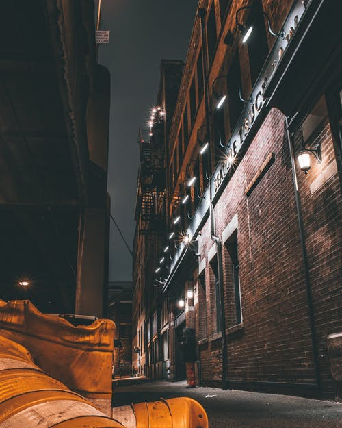 Free stock photo of Bricks building, buildings, Construction barriers, long exposure