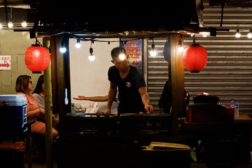 Foto stok gratis Asia, chef, foto, foto malam