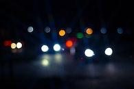lights, night, dark