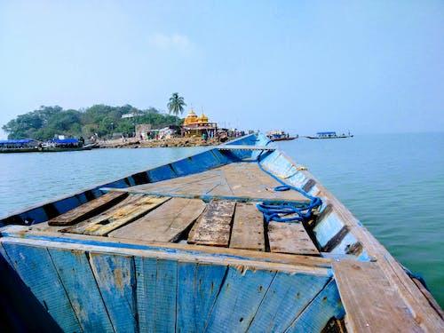 印度, 奧里薩邦, 湖廟, 船 的 免費圖庫相片