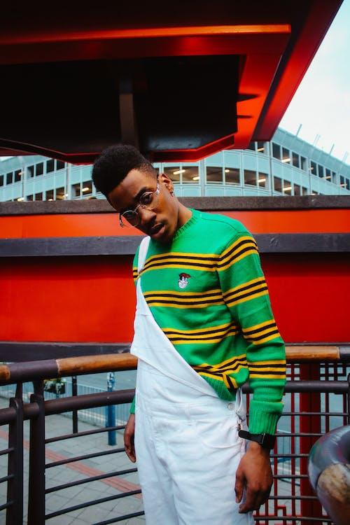 Photos gratuites de à la mode, homme, homme afro-américain, homme noir