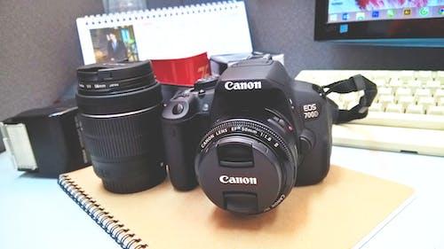 Δωρεάν στοκ φωτογραφιών με canon, dslr, αναλαμπή, ηλεκτρονικά είδη
