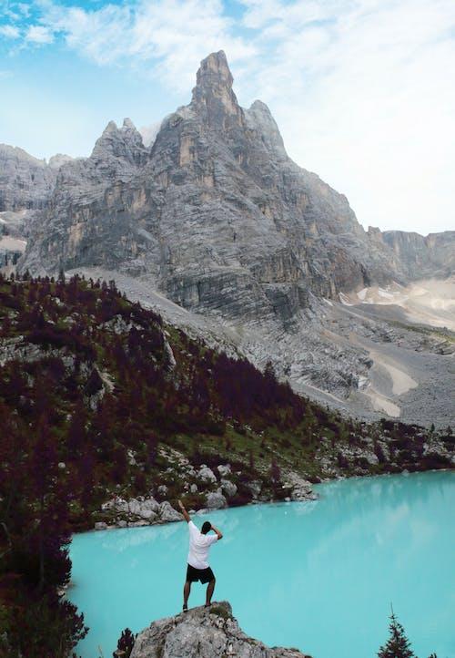 돌로미티, 라고 디 소라 피스, 벨 루노, 산의 무료 스톡 사진